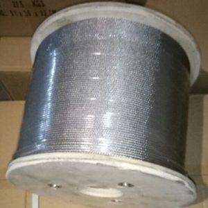 Трос нержавеющий WASI (Германия), диаметр 5 мм (1*19)